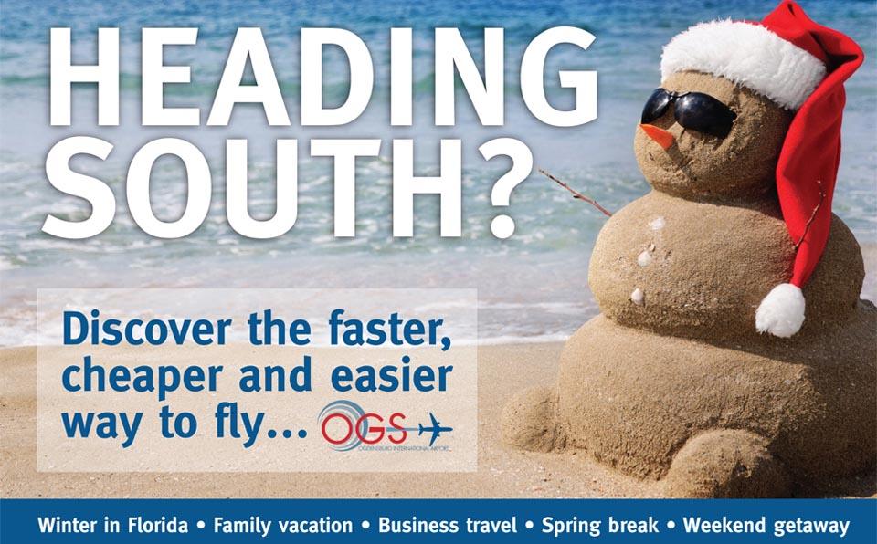 OGS Announces Flight Promo