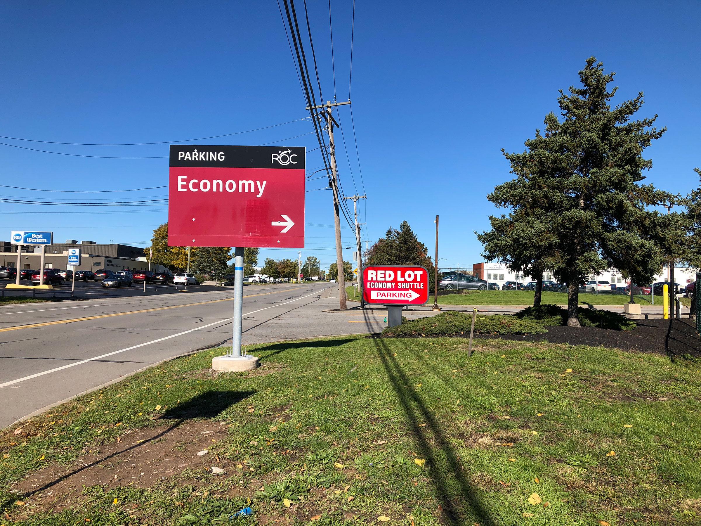 Image of Economy Shuttle Parking