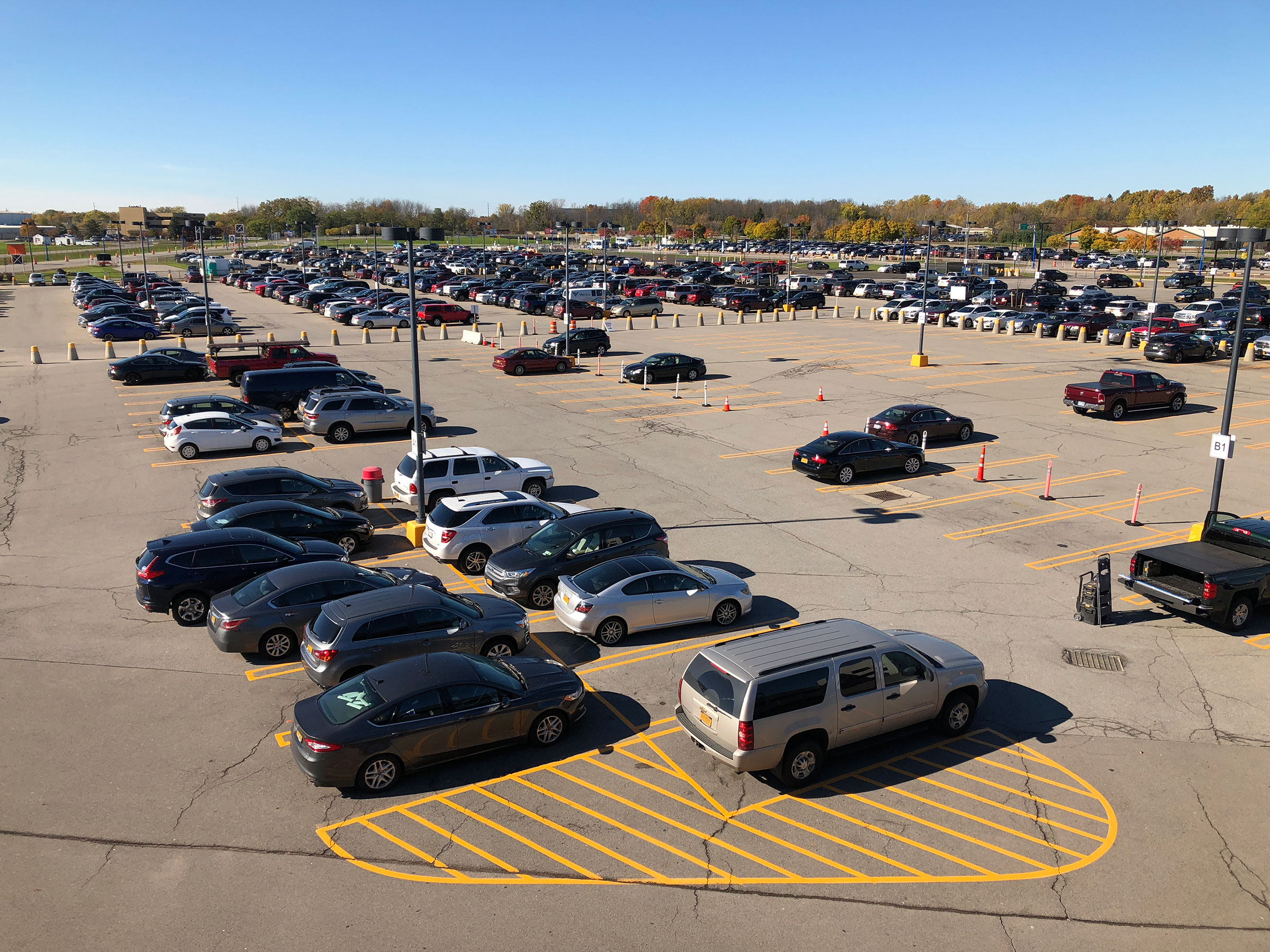 Image of Weekly Parking Lot